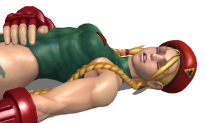 Cammy White Knocked Out 5