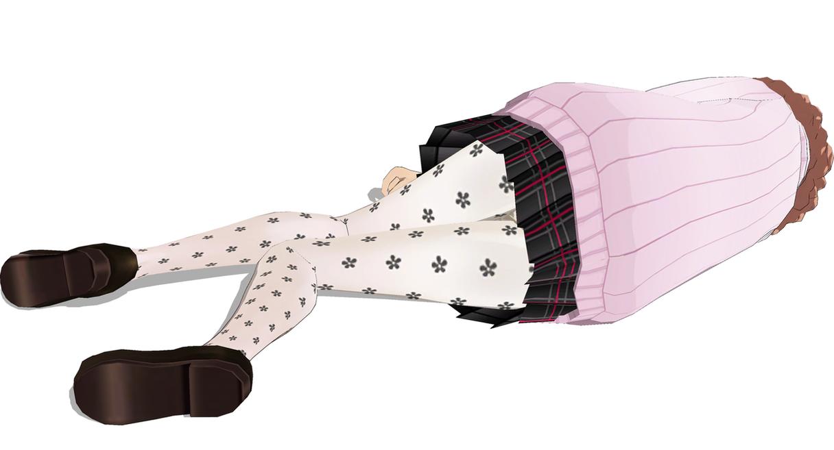 Haru Okumura Hurt 2 by FallenParty