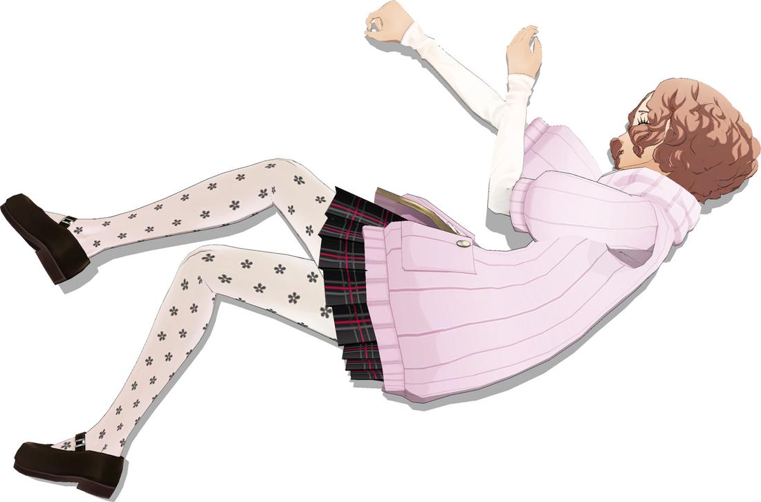 Haru Okumura Hurt 4 by FallenParty
