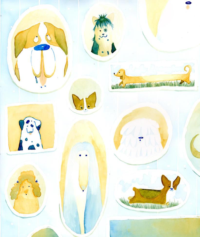 Designer Dogs by manda-j-panda