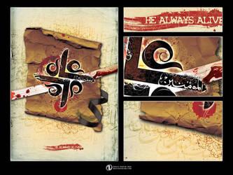 He-Always-Alive by NAVIDRAHIMIRAD