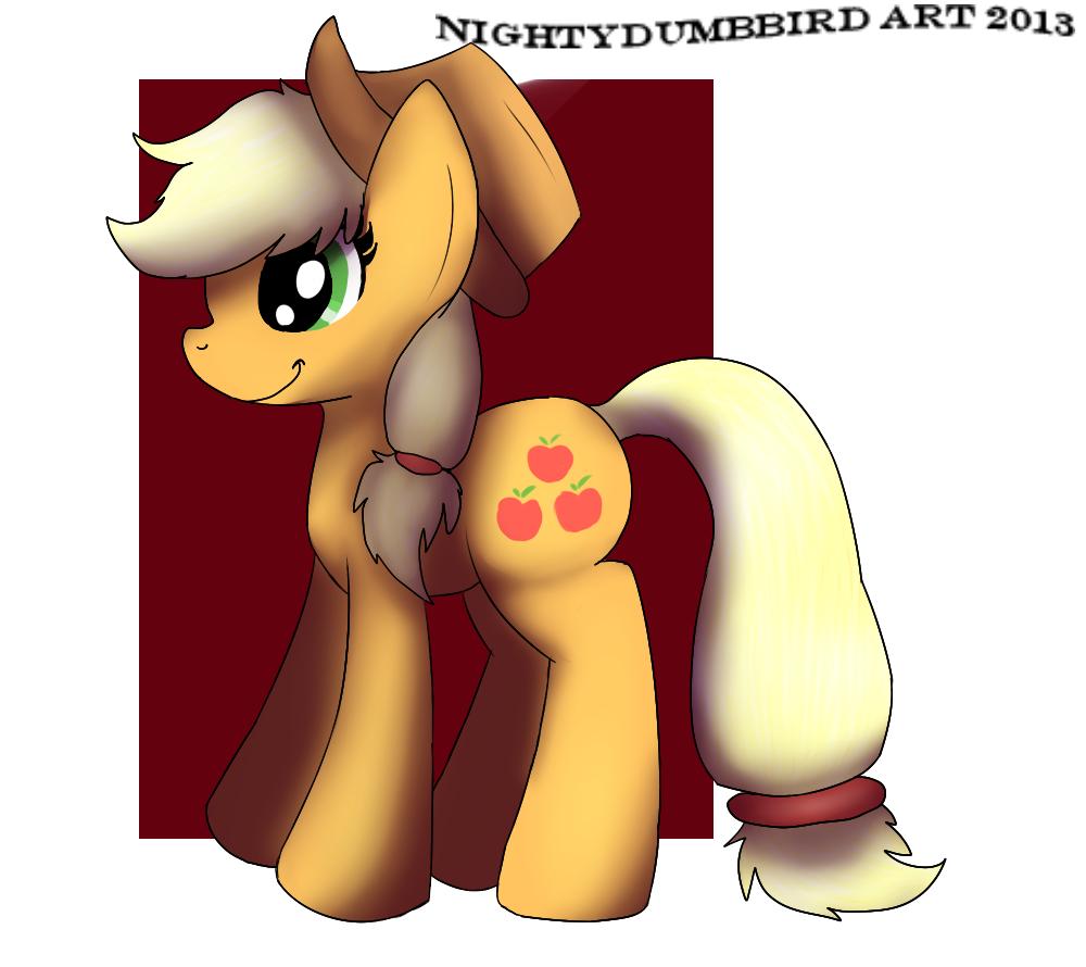 Applejack by NightyDumbBird