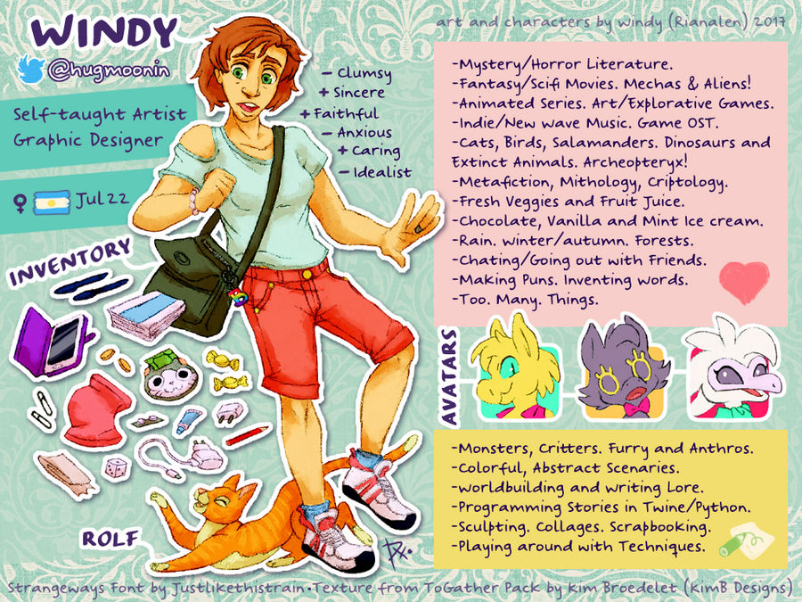 MeetTheArtist] My WINDYful Life by Fenix-Acuarelado on DeviantArt