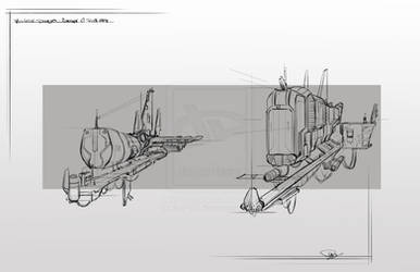 Cargo Ships at Pitstop by saga1941