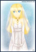 ToS - White Dress by Asatsuyu