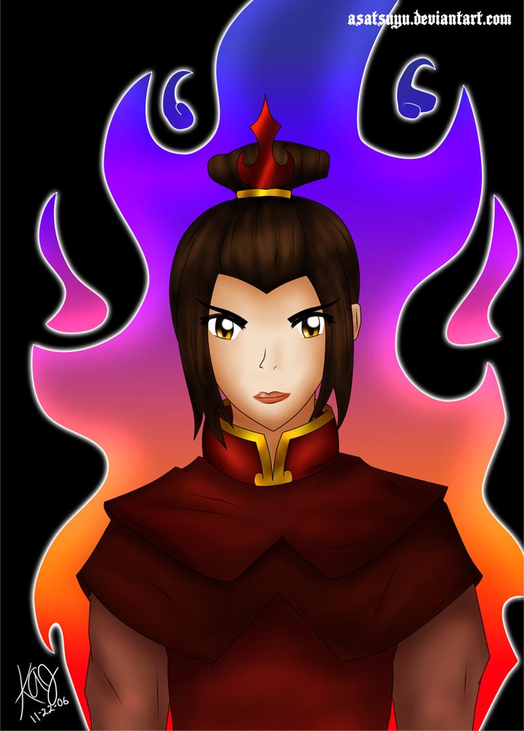 Avatar - Azula by Asatsuyu