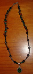 Gothic Glass Necklace by Shinigami20