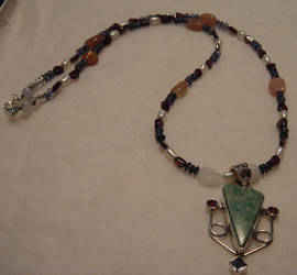 Tree Agate Necklace by Shinigami20