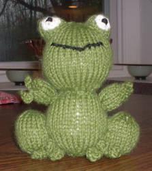 Frankie Frog by Shinigami20
