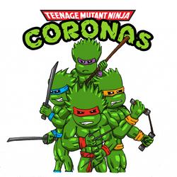Teenage Mutant Ninja Coronas