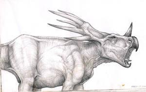 Styracosaurus by sarcovenator