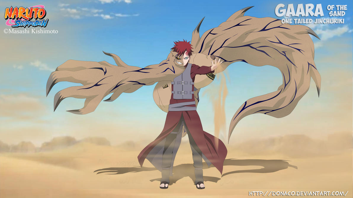 Gaara of the Sand One Tailed One Tailed Beast Gaara
