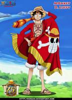 Monkey d Luffy 15