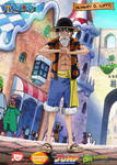 Monkey D Luffy Dressrosa Outfit