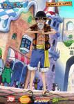 Monkey D Luffy Dressrosa Outfit