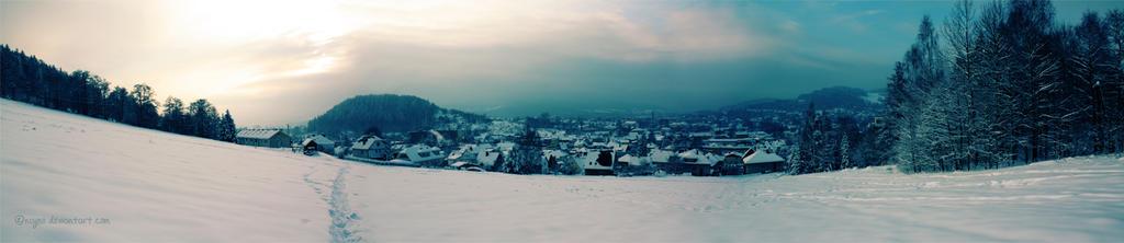 winter panorama by najmo