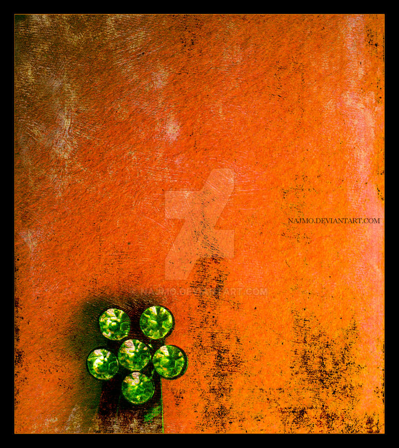 green flower by najmo