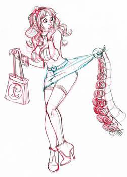 Free sketch Akachan