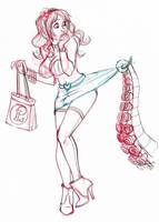 Free sketch Akachan by Furedo