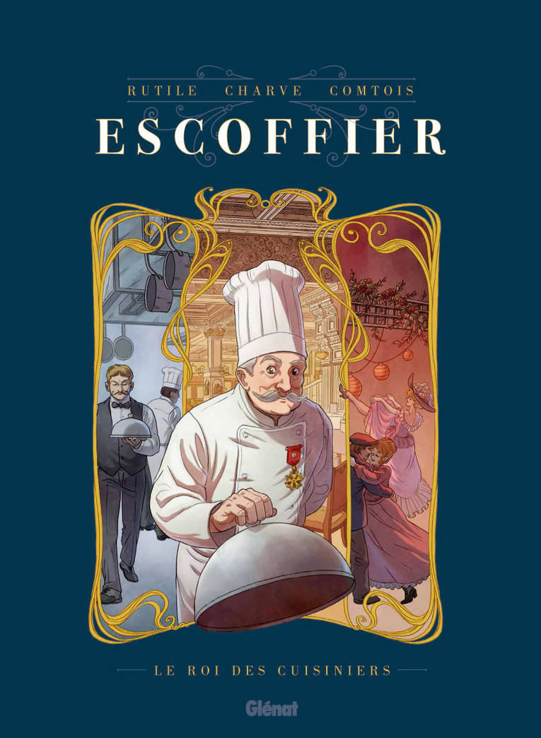 ESCOFFIER Couverture by Furedo