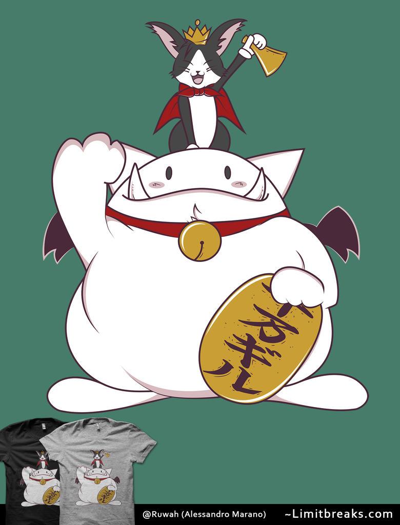 Maneki Cait [Final Fantasy VII] by Ruwah