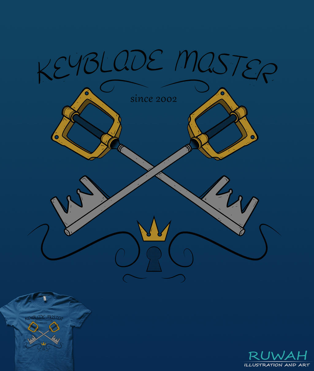 Kingdom Hearts Iphone Wallpaper: Keyblade Master, Since 2002 [Kingdom Hearts] By Ruwah On