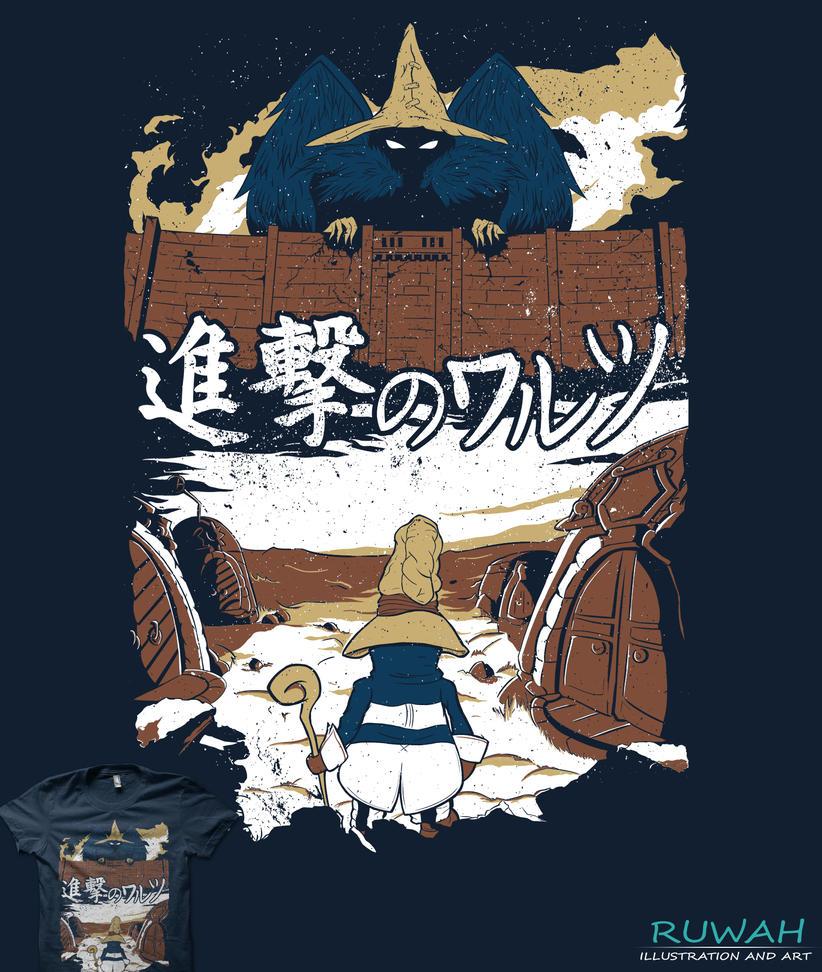 Attack on Waltz - Shingeki no Waltz by Ruwah