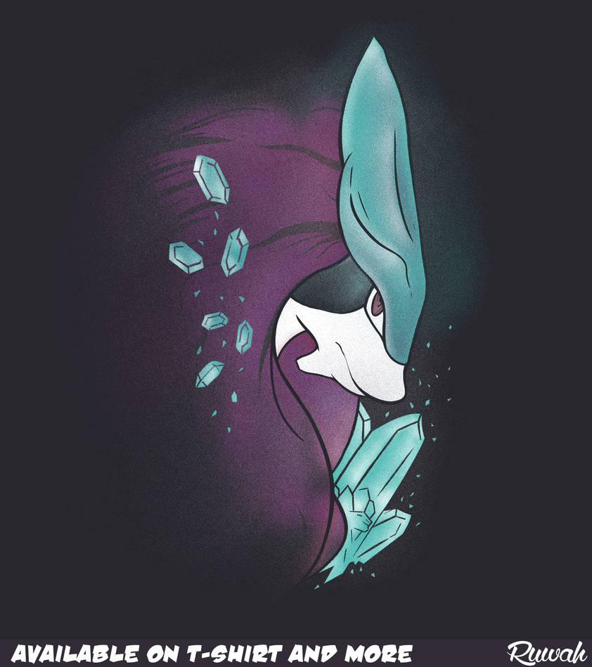 03fde5e6 Crystal's Guardian (Suicune/Pokemon t-shirt) by Ruwah on DeviantArt