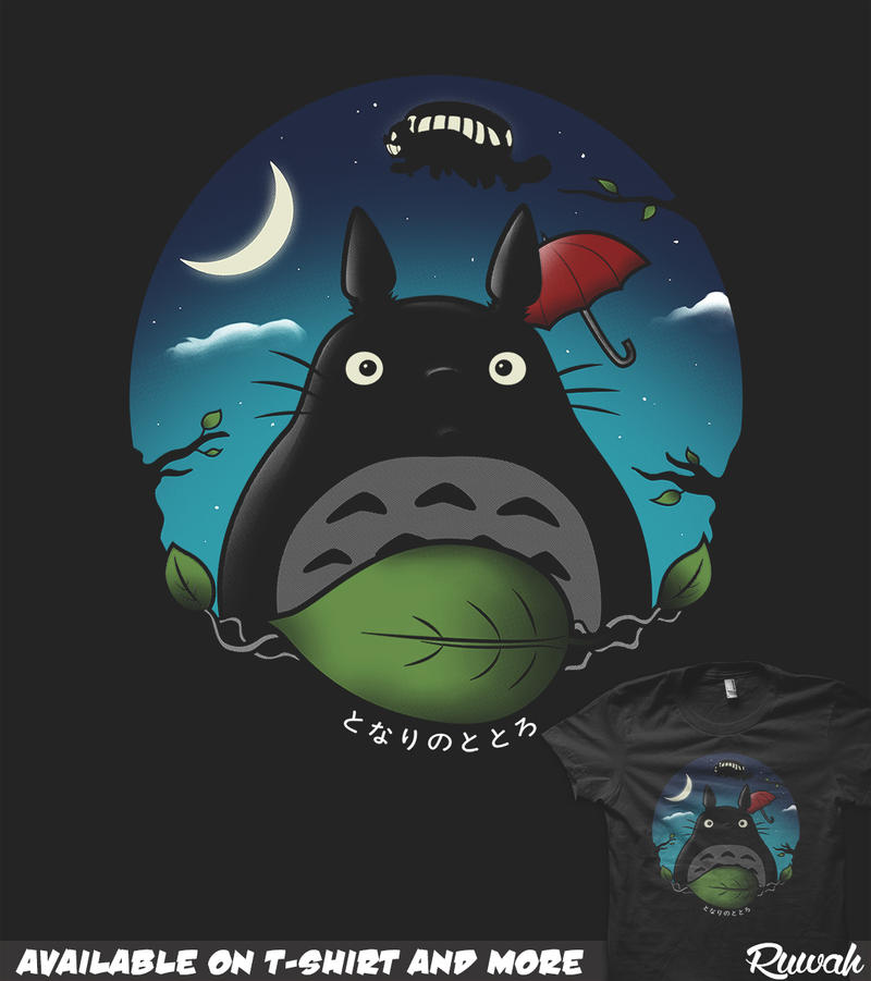 Nightly Neighbor (My Neighbor Totoro) by Ruwah