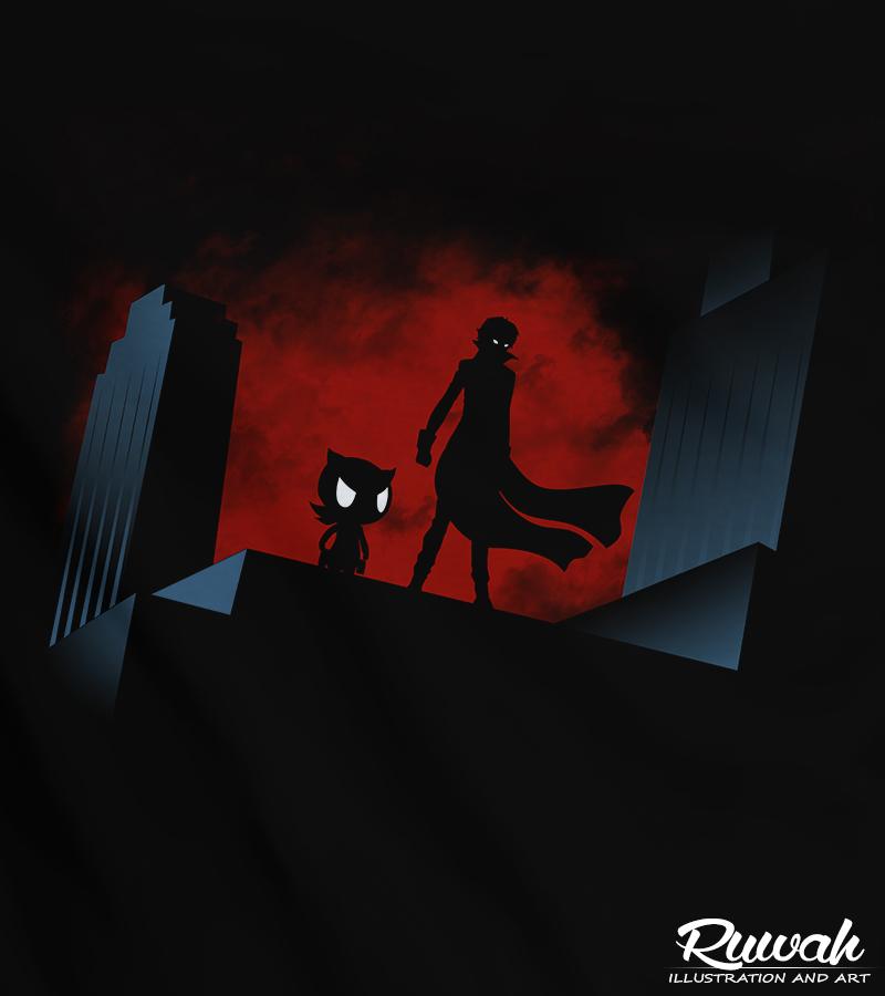 Phantom Thieves (Persona 5) by Ruwah