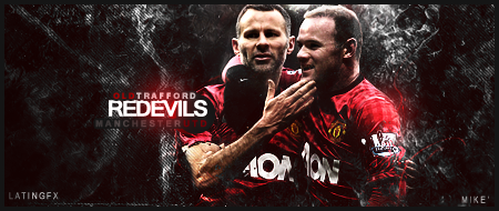 Rooney and Giggs By gaviota1 - mike' by Lat1nGFX