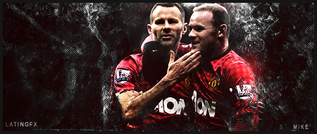 Rooney and Giggs v2 By gaviota1 - mike' by Lat1nGFX