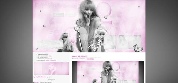 Graphic site theme (dontsayshh.blog.cz) #4
