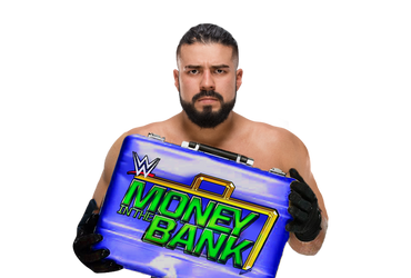 Andrade Smackdown Mr Money in the Bank by BrunoRadkePHOTOSHOP