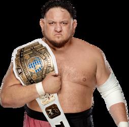 Samoa Joe Intercontinental Champion by BrunoRadkePHOTOSHOP