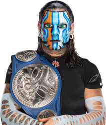 Jeff Hardy Smackdown Tag Team Champion(Face Paint) by BrunoRadkePHOTOSHOP