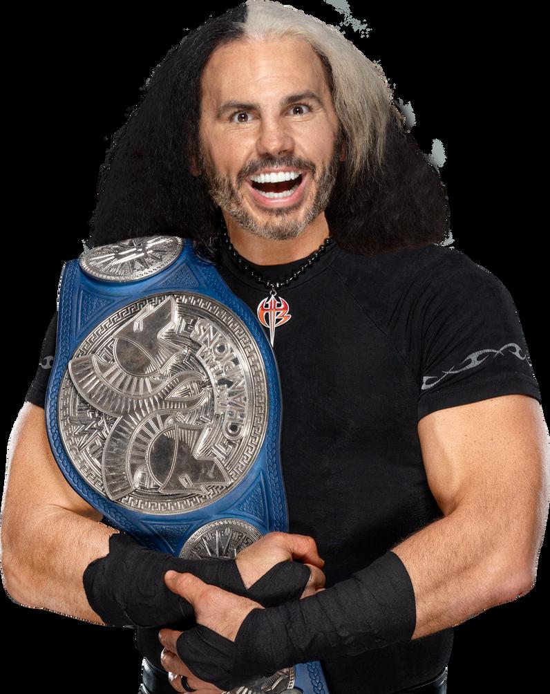 Matt Hardy Smackdown Tag Team Champion (WOKEN) by BrunoRadkePHOTOSHOP