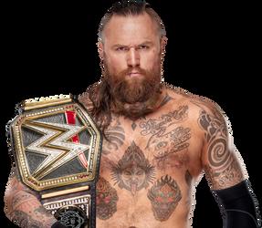 Aleister Black WWE Champion 2019 by BrunoRadkePHOTOSHOP