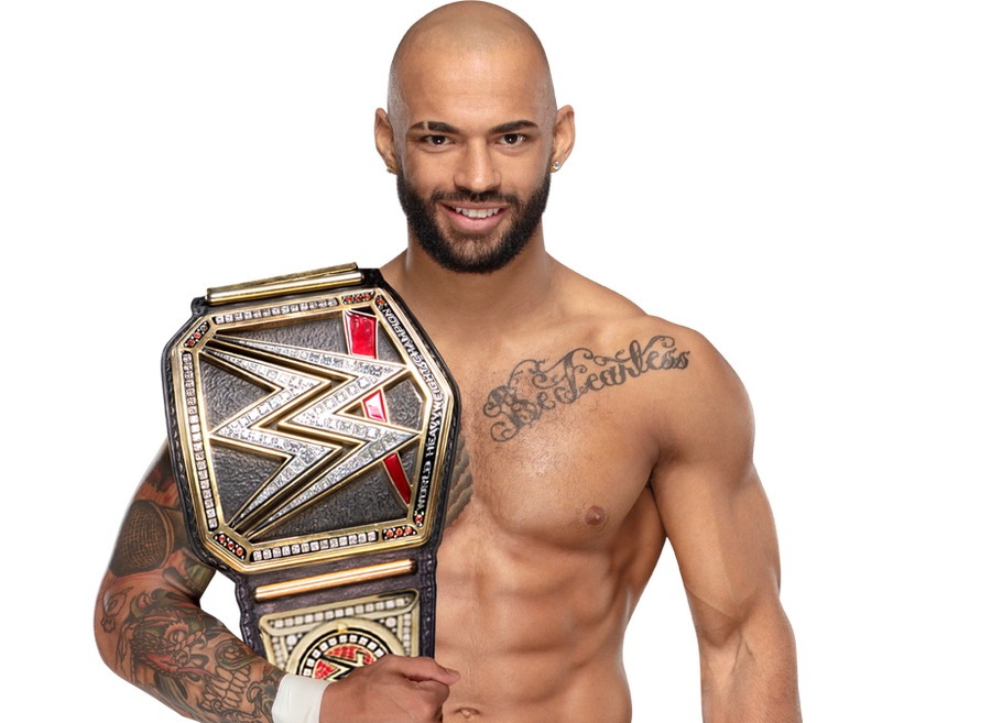 Ricochet WWE Champion 2019 by BrunoRadkePHOTOSHOP