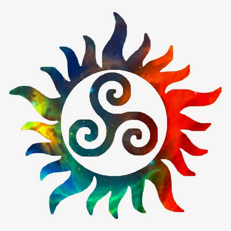 Rainbow Supernatural Druid Symbol By Magical Mischel On Deviantart