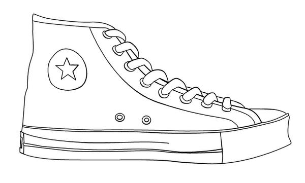 Tennis Shoe Templates Free