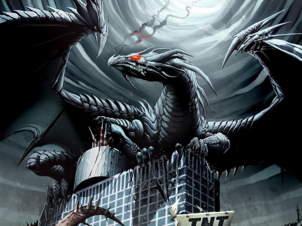 omg its a dragon by archhellshadow