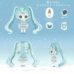 Snow Miku 2013 by Delsago