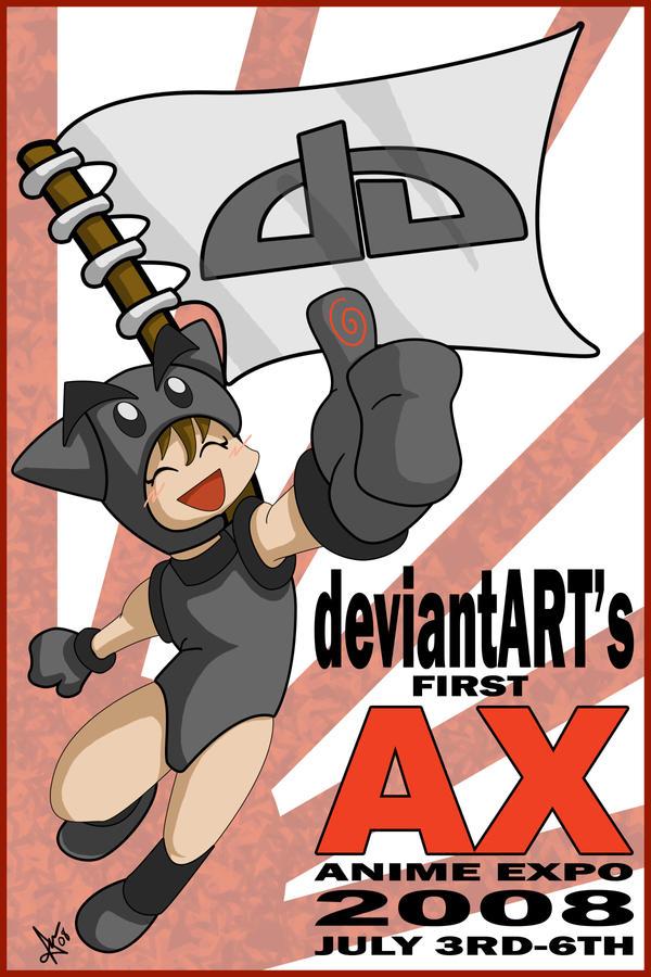 DA's AX Poster Contest by utenafangirl