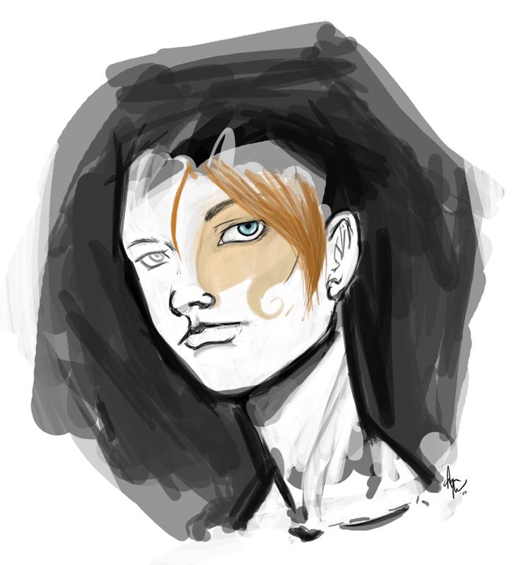 Random doodle by utenafangirl