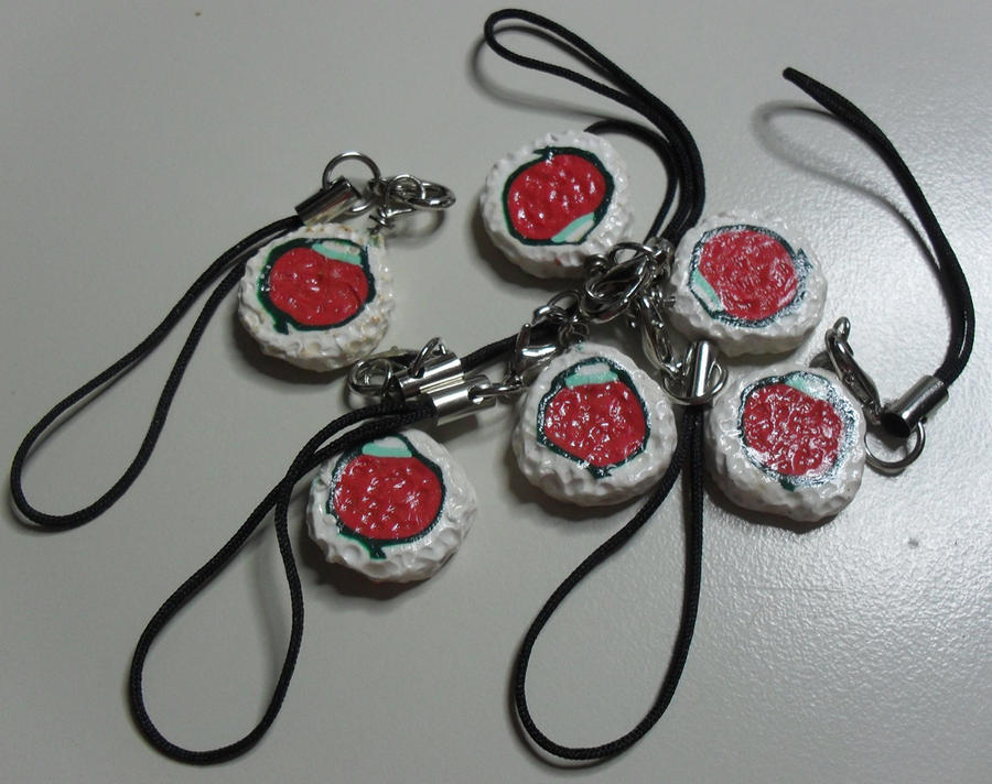 Spicy Tuna Roll Charm by utenafangirl