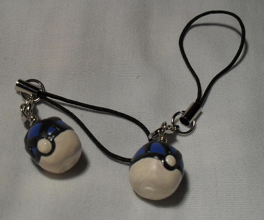 Net Ball charms by utenafangirl
