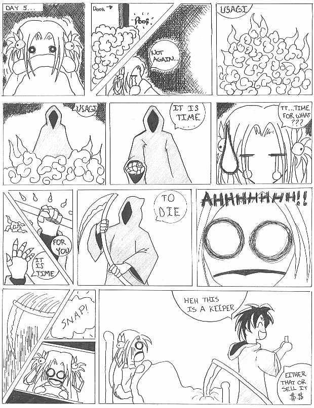 Cheapo Comics page 6 by utenafangirl