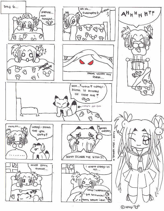 Cheapo Comics page 7 by utenafangirl