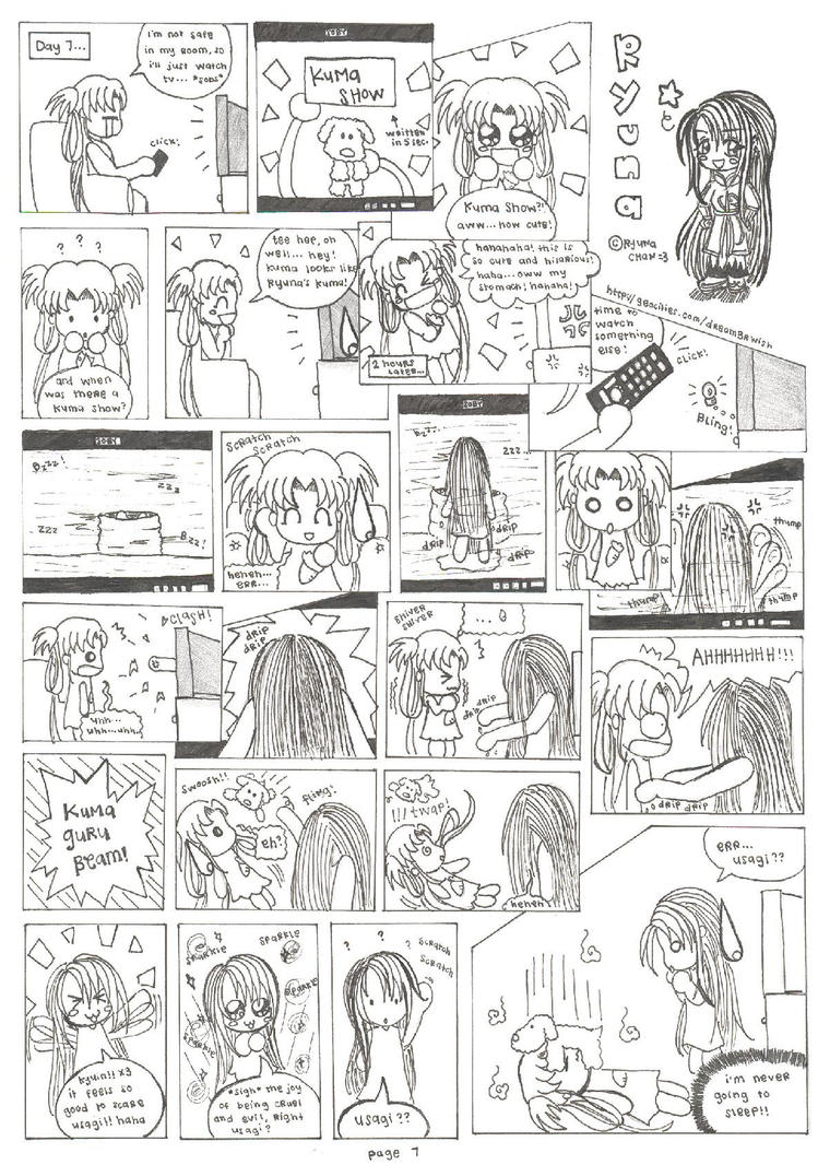 Cheapo Comics page 8 by utenafangirl